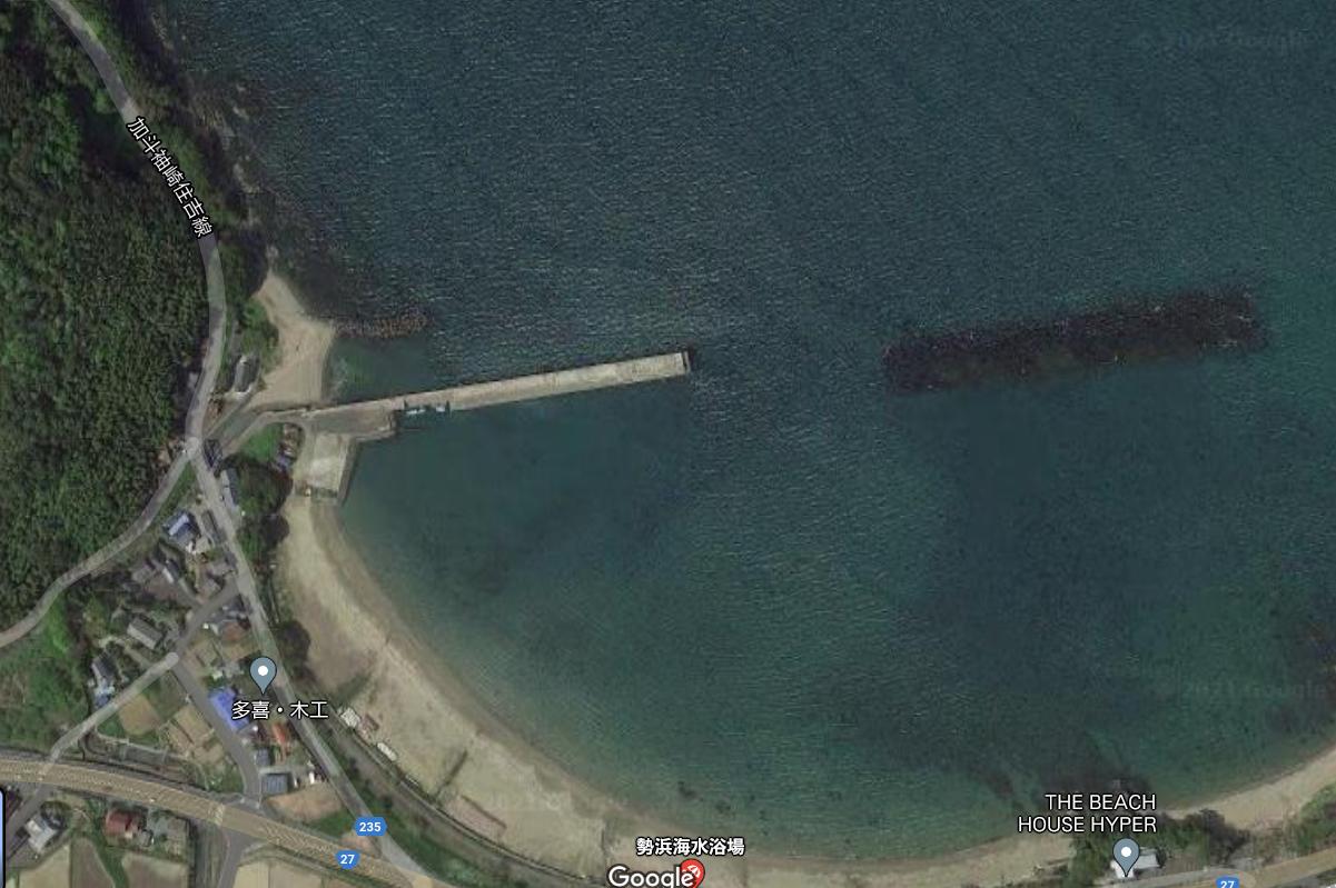 【海釣りポイント】勢浜防波堤@福井県小浜市